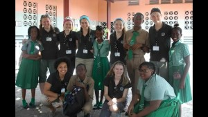 Holy Cross Secondary School student Emily Crockford is raising money to help several schools in Kingston, Jamaica